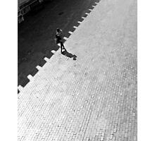 Diagonal Walk Photographic Print
