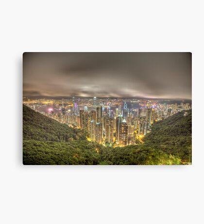 hong kong island Canvas Print