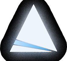 Glow Triangle by George Barwick