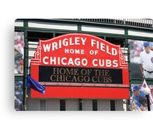 Chicago Cubs - Wrigley Field Canvas Print