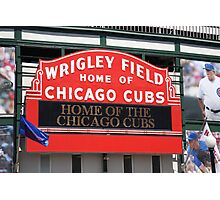 Chicago Cubs - Wrigley Field Photographic Print