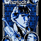 Sherlock Sticker by Ryleh-Mason