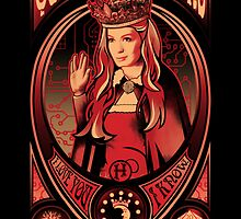 Queen of Moons sticker by Tracey Gurney