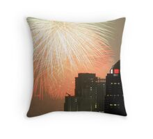 firework blast Throw Pillow