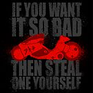 Steal one yourself - sticker by R-evolution GFX
