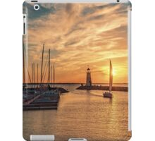 *And God made the two great lights—the greater light to rule the day and the lesser light to rule the night—and the stars**Genesis 1:16* iPad Case/Skin