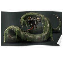 Mecha-Snake Poster