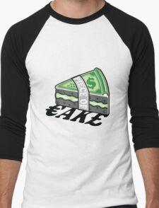 Piece of Cake Men's Baseball ¾ T-Shirt