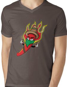 Mr. Spicy HOT Mens V-Neck T-Shirt
