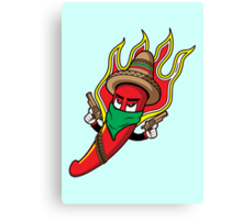 Mr. Spicy HOT Canvas Print