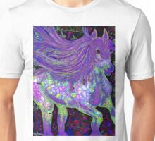 Fantsy Horse Abstract Mosaic Unisex T-Shirt