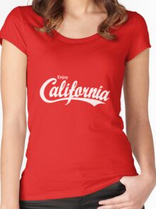 Enjoy California Women's Fitted Scoop T-Shirt