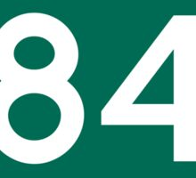 CA-84 - Redwood City Sticker