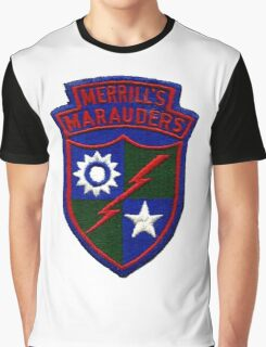 Merrill's Marauders Logo Graphic T-Shirt