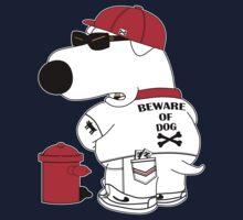 Beware of dog Kids Tee