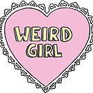 weird girl by lazyville