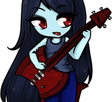 Chibi Marceline the Vampire Queen by kalilarose