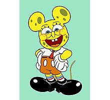 Sponge mickey Photographic Print