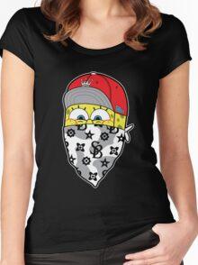 Sponge gang Women's Fitted Scoop T-Shirt