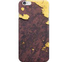 Yelow Rust iPhone Case/Skin