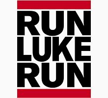 RUN LUKE RUN (Black font) Unisex T-Shirt