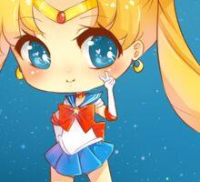 """3.0"""" Sailor Moon Chibi Sticker Sticker"""