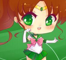"""3.0"""" Sailor Jupiter Chibi Sticker Sticker"""