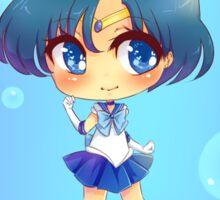 "3.0"" Sailor Mercury Chibi Sticker Sticker"