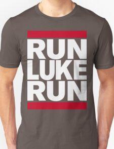 RUN LUKE RUN (White font) T-Shirt