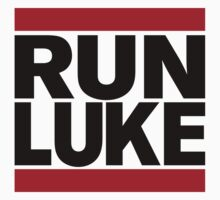 RUN LUKE (Black font) T-Shirt