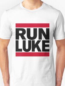 RUN LUKE (Black font) Unisex T-Shirt