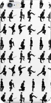Monty Python Ministry of Silly Walks iPhone case by BunnyJump