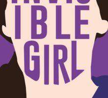 Invisible Girl Sticker