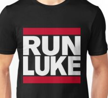 RUN LUKE (White font) Unisex T-Shirt
