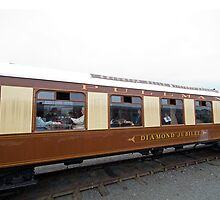 The Brighton Belle Pullman Diamond Jubilee coach by Keith Larby