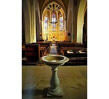Saint-Sauveur Aisle Photographic Print