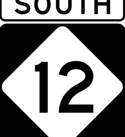 NC 12 - SOUTH Sticker