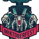 MakToberfest 13 - STICKER by victorsbeard