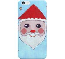 Kawaii Santa iPhone Case/Skin