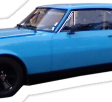 Grabber Blue Firebird Sticker