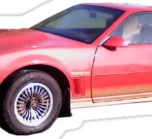 Red 84 TransAm Sticker