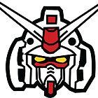 Gundam Head by UndeadWraith