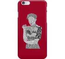Irene Adler Typography Art iPhone Case/Skin