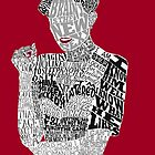 Irene Adler Typography Art by andersaur