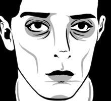 Buster Keaton-Round Sticker Sticker