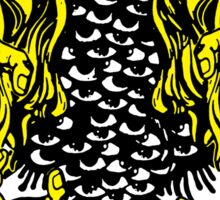 Cthulhu Rising: Yellow Shoggoth Sticker