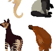 Odd Animals set by hoodsandhats