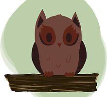 Owl by imbusymycroft