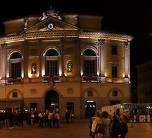 Lugano Piazza Municipio, Ticino, Switzerland by bartfrancois