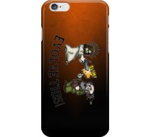 Evolve this!! iPhone Case/Skin